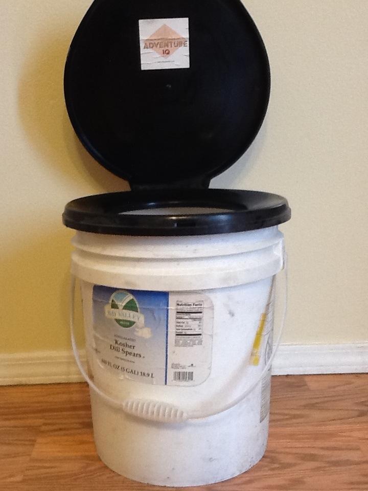 Luggable Loo Bucket Toilet   On Sale!